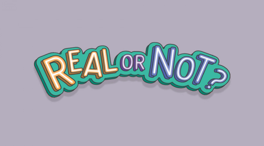 """Logo that reads """"Real or Not?"""", a series clarifying myths and untruths about CPF"""